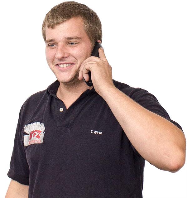 """Thomas Wirth, Geschäftsführer Automobil- und Motorentechnik KFZ-Meisterbetrieb GmbH in Stuttgart-Weilimdorf"""""""